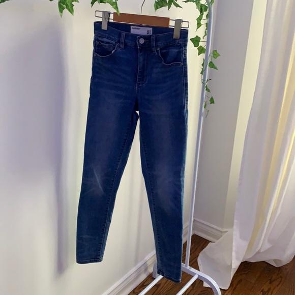 Garage Blue Denim Skinny Jean